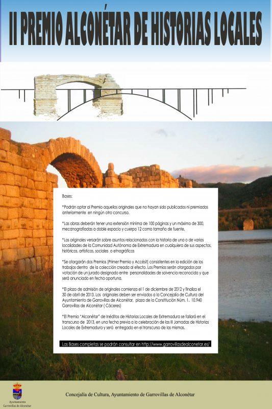 II PREMIO HISTORIAS LOCALES
