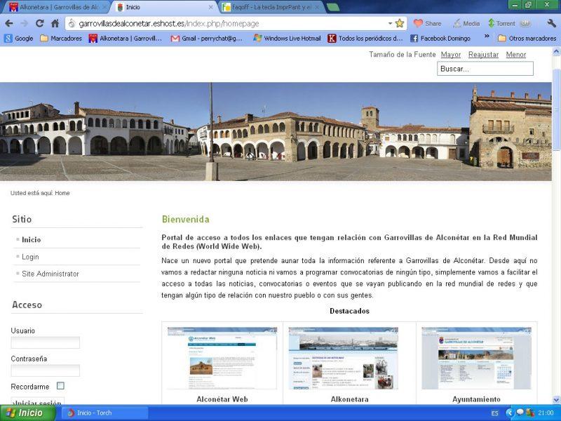 Nueva web con información sobre el municipio