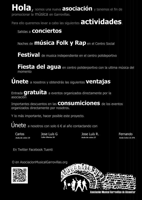 Asociación Musical Garrovillas de Alconétar