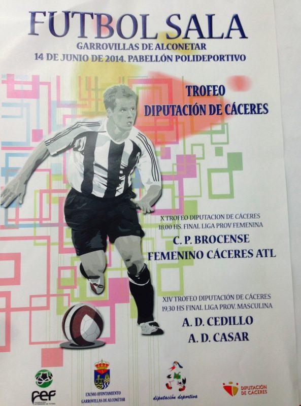 Futbol sala - Trofeo de la Dip. de Caceres