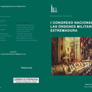 I Congreso Nacional de las Órdenes Militares en Extremadura