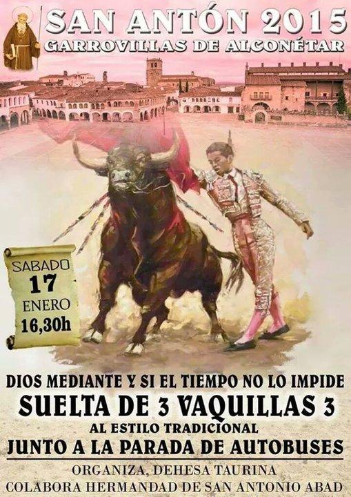 Fiesta San Antón 2015 - Garrovillas de Alconétar -