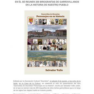 """Presentación Libro de Salvador Valle """"Personajes en su Historia"""""""