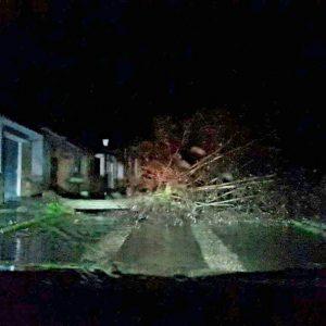 Tornado en Garrovillas