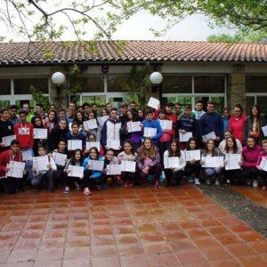 El Campamento Culturas se inicia en Jerte con la participación de 55 jóvenes