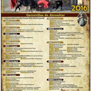 Programa de Festejos San Roque 2016
