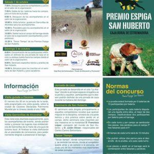 Premio Espiga San Humberto viene a Garrovillas