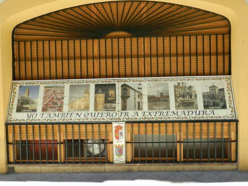 Nuestra Plaza una de las ocho propuestas para visitar en Extremadura.