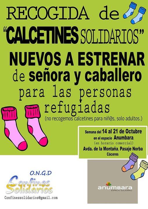 2016 Campaña calcetines solidarios