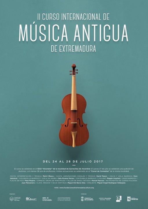 II Curso Internacional de Música Antigua de Extremadura