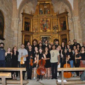 Clausura del II curso internacional de música antigua de Extremadura en Garrovillas