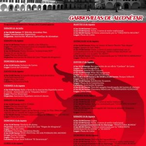 Programa de festejos San Roque 2017