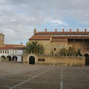 La plaza Porticada de Garrovillas, Mejor Rincón de Extremadura 2018