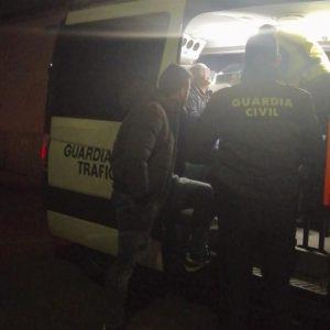 Detenido por un delito de conducción temeraria en Garrovillas
