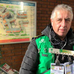El cupón de la Once deja 350.000 euros con el vendedor del hospital de Cruces