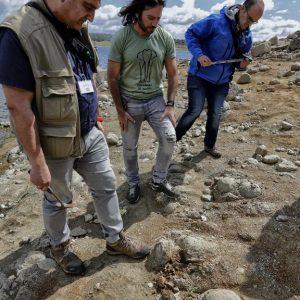 La Junta comprueba que son rocas magmáticas lo que parecían fósiles de huevos de dinosaurio
