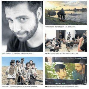 Mikel Mas Bilbao: «Extremadura funciona muy bien como escenario para el cine»