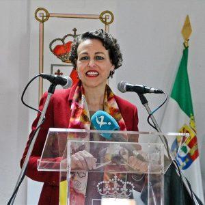 La ministra Magdalena Valerio dará un mitin el viernes en Garrovillas de Alconétar
