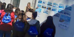 Los alumnos del instituto de Garrovillas de Alconétar conocen cómo se potabiliza el agua de su municipio