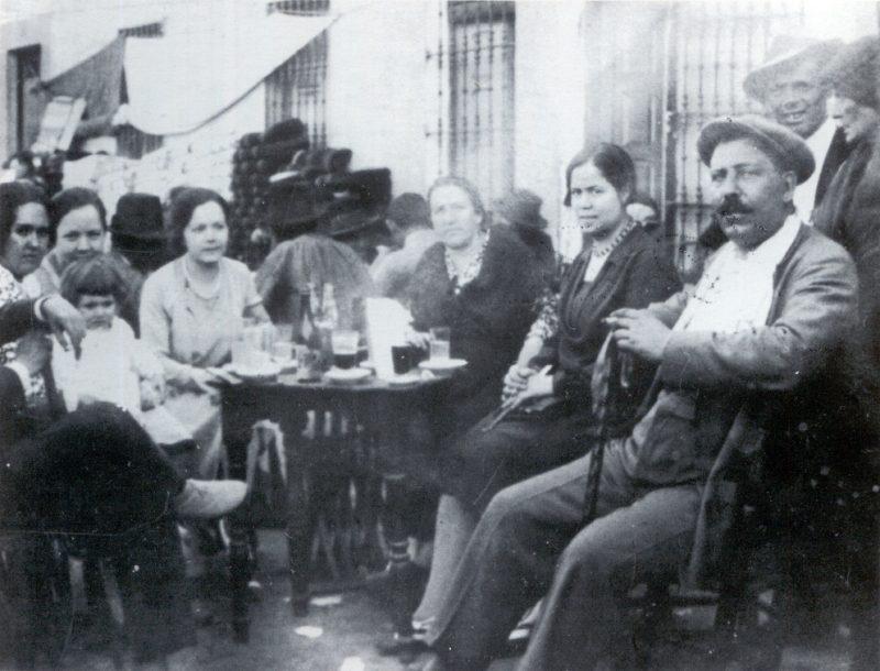 Evocación de la Feria de San Mateo por Jose Maria Velaz.