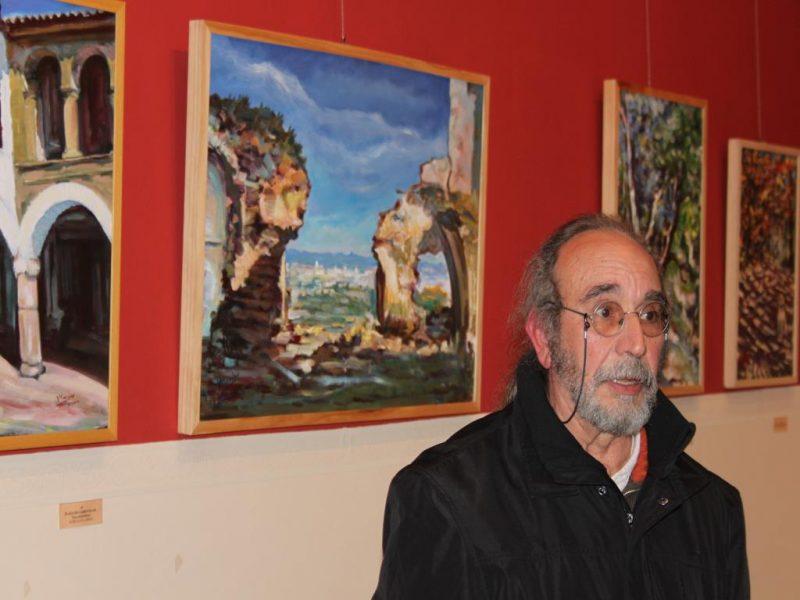 Exposición de pinturas de Vicente Macías Moreno