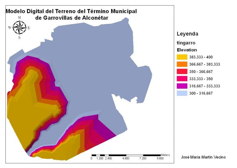 Modelos del termino municipal de Garrovillas y mas