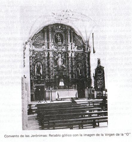 El monasterio de las Monjas Jerónimas