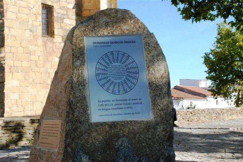 Actos en Homenaje a Domingo Marcos Durán - Alkonetara