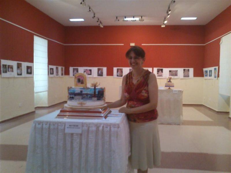 Exposición de tartas Art Caral