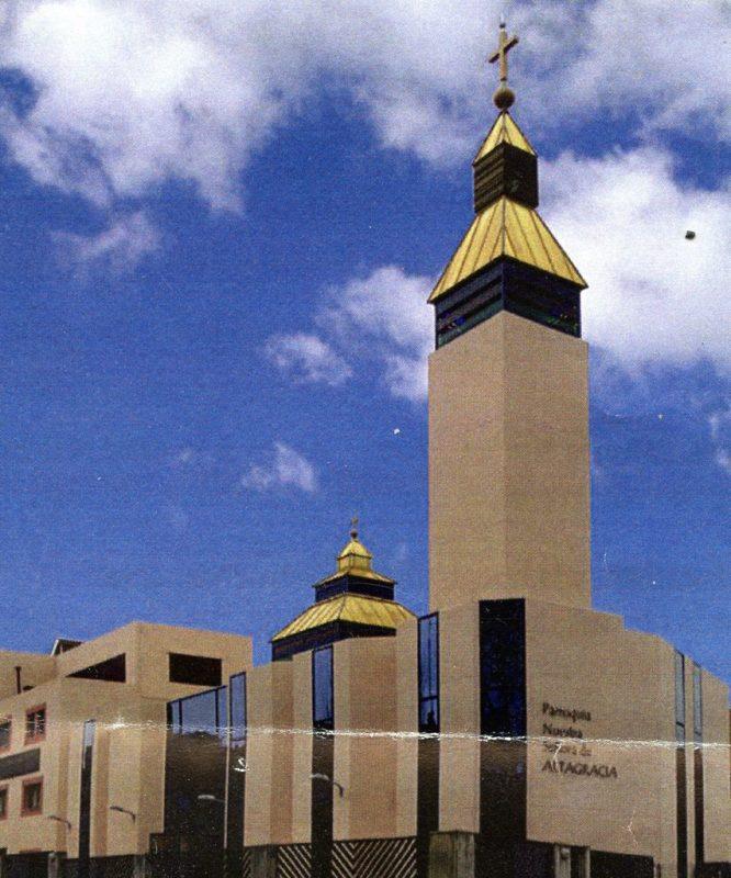 Inauguración del Templo de la Parroquia de Nuestra Señora de Altagracia en Madrid